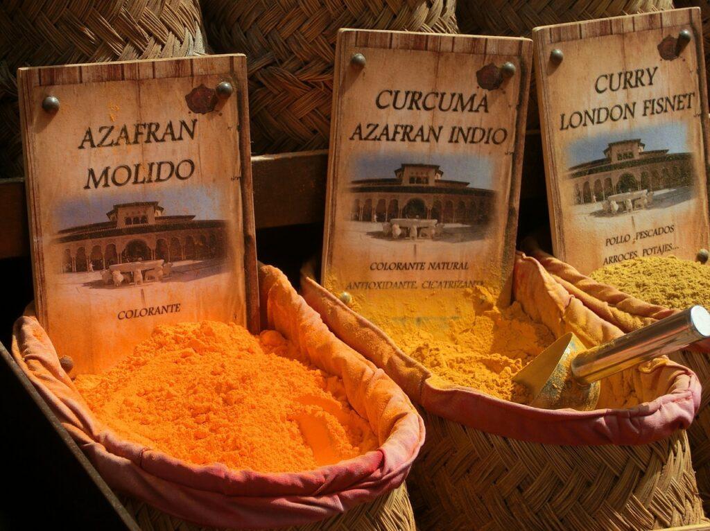 Diferencia entre el Azafrán y la cúrcuma